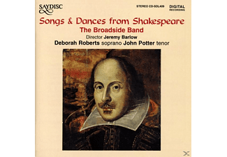 The Broadside Band - Song & Dances from Shakespeare - (CD)