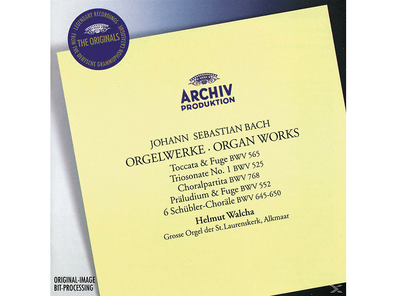 Helmut Walcha - Orgelwerke [CD]