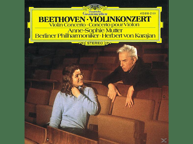 Anne-Sophie Mutter, Mutter,Anne-Sophie/Karajan,Herbert Von/BP - Violinkonzert Op.61 [CD]