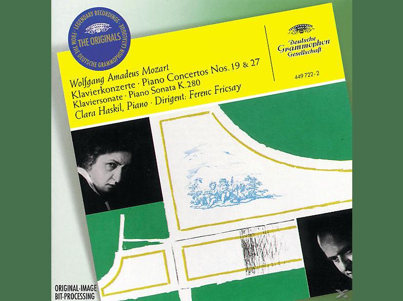 VARIOUS, Haskil,Clara/Fricsay,Ferenc/BP/BSOM - Klavierkonzerte 19, 27/Klaviersonate Kv 280 [CD]