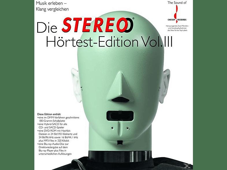 VARIOUS - DIE STEREO HÖRTEST EDITION 3 (+SAHY+LP+DVD+ROM) [LP + DVD + CD]