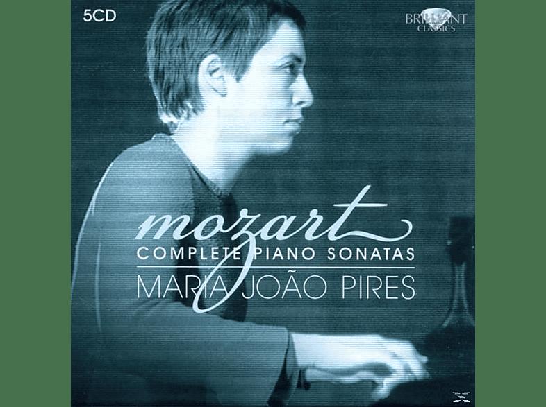 Maria Joao Pires - Mozart :Sämtliche Klaviersonaten 1-18 (Ga) [CD]