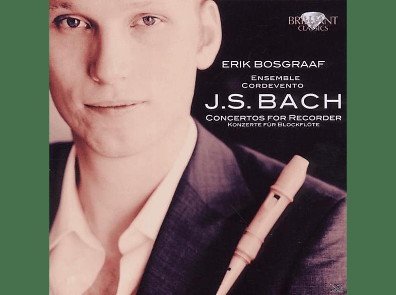 Erik Bosgraaf, Cordevento, Erik/cordevento Bosgraaf - Bach: Konzerte Für Flöte [CD]
