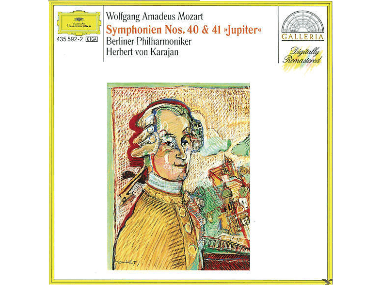 Carl August Nielsen, Herbert Von Bp/karajan - Sinfonien 40, 41 [CD]