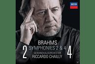 Riccardo Chailly - Brahms: Sinfonien 2 & 4 [CD]