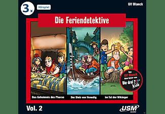 Die Feriendetektive - Die Feriendetektive Hörbox Vol. 2  - (CD)