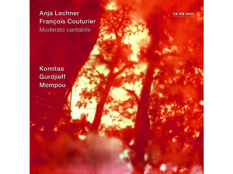 Lechner, Anja / Couturier, Francois - Moderato Cantabile [CD]