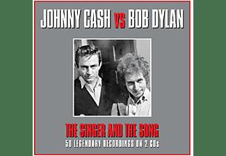 Johnny Cash, Bob Dylan - Johnny Cash Vs Bob Dylan  - (CD)