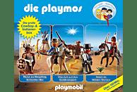 Die Playmos - Die Playmos: Die große Cowboy- und Indianerbox - (CD)