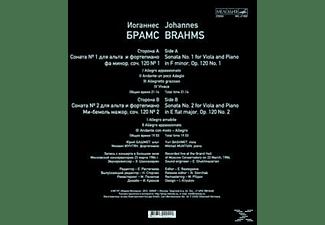 Yuri Bashmet (vl) - Bratschensonaten 1+2  - (Vinyl)