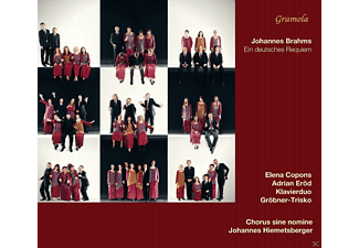 Elena Copons, Adrian Erod, Chorus Sine Nomine - Ein deutsches Requiem - (CD)