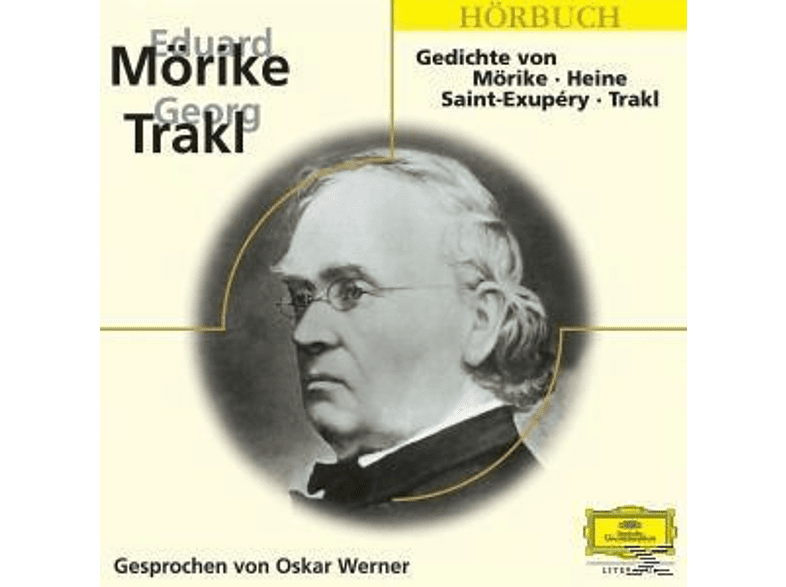 Gedichte von Heine, Mörike, Saint-Exupery und Trakl - (CD)