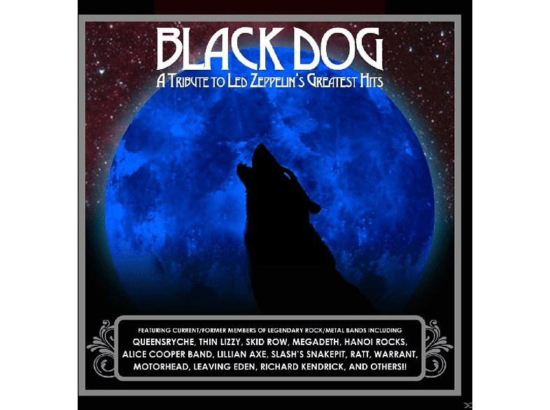 VARIOUS - Black Dog [CD]