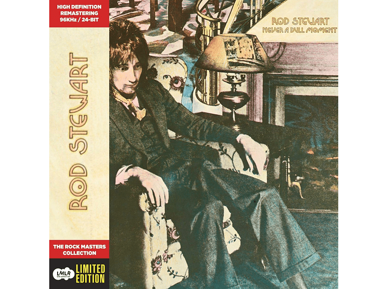 Rod Stewart - Never A Dull Moment (Limited Edition) [CD]