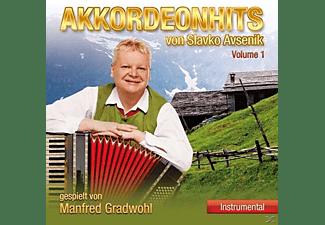 Manfred Gradwohl - Akkordeonhits Von Slavko Avsenik,Vol.1  - (CD)