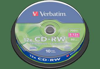 VERBATIM 43480 CD-RW 80 Rohling