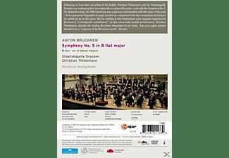 Staatskapelle Dresden, Thielemann Christian - Bruckner: Symphony No. 5 (Semperoper Dresden, 2013)  - (DVD)