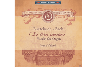Valotti Ivana - De divina inventione - Work for Organ - (CD)