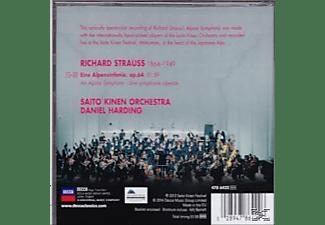 Daniel Harding, Saito Kinen Orchestra - Richard Strauss: Eine Alpensinfonie  - (CD)