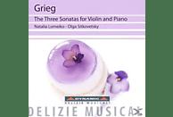Natalia Lomeiko, Olga Sitkovetsky - Die Drei Sonaten Für Violine Und Klavier [CD]