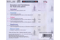 De Rosa/Neonato, De Rosa,Fabio/Neonato,Stefania - Sonaten und Variationen für Flöte und Klavier [CD]