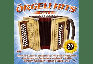 Diverse Interpreten - Örgeli Hits,Folge 5  - (CD)