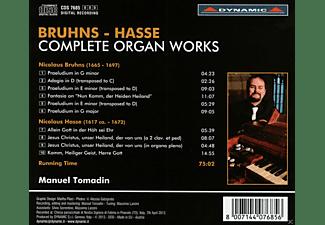 Manuel Tomadin - Sämtliche Orgelwerke  - (CD)