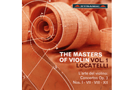 Ensemble Orchestra Reale Concerto, Fanfoni Luca - Die Meister der Violine Vol. 1:  Locatelli [CD]