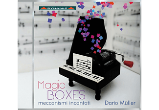 Dario Müller - Magic Boxes - (CD)