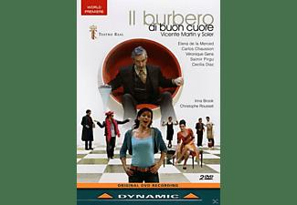 Carlos Chausson, Saimir Pirgu, Cecilia Diaz, Orquestra Sinfónica de Madrid, Gens Veronique, Elena De La Merced - Il Burbero Di Bon Cuore  - (DVD)