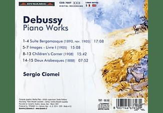 Sergio Ciomei - Klavierwerke  - (CD)
