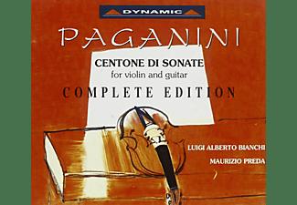 Luigi Alberto Bianchi, Maurizio Preda - Centone di sonate-komplett  - (CD)