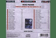 Adriano Sebastiani - Sämtliche Ghiribizzi für Gitarre (GA) [CD]