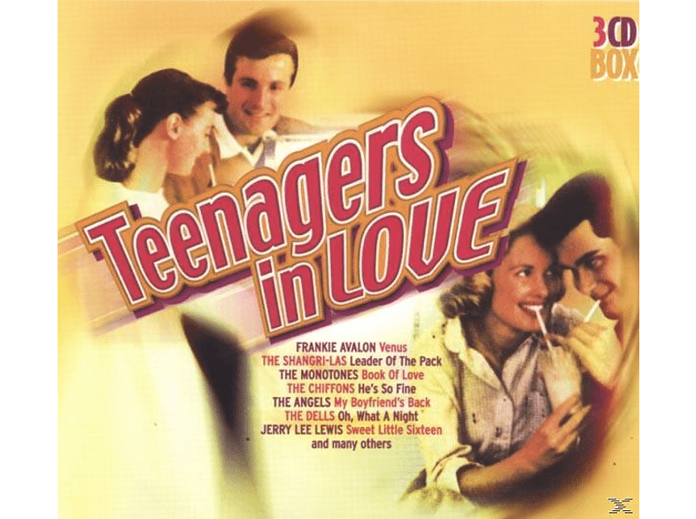 VARIOUS - Teenagers In Love [CD]