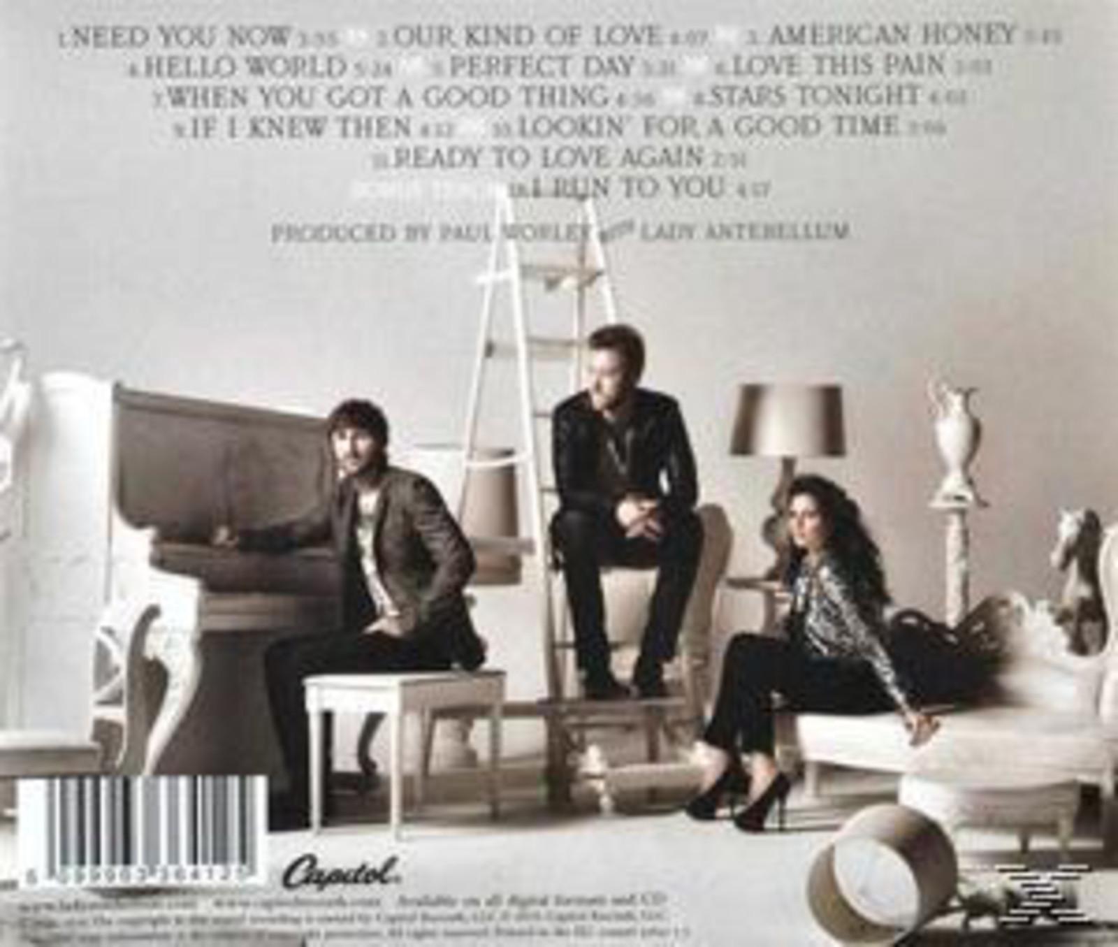 Lady Antebellum - Lady Antebellum - Need You Now [CD] 5