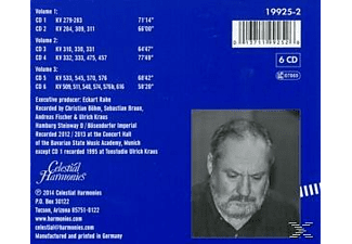Mauser Siegfried - Sämtliche Klaviersonaten  - (CD)