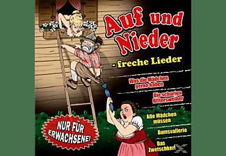 VARIOUS - Auf Und Nieder-Freche Lieder  - (CD)
