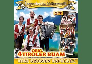 orig. 4 Tiroler Buam - Ihre großen Erfolge  - (CD)