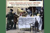 VARIOUS - Cantors, Klezmorim & Crooners 1905-1953 [CD + Buch]