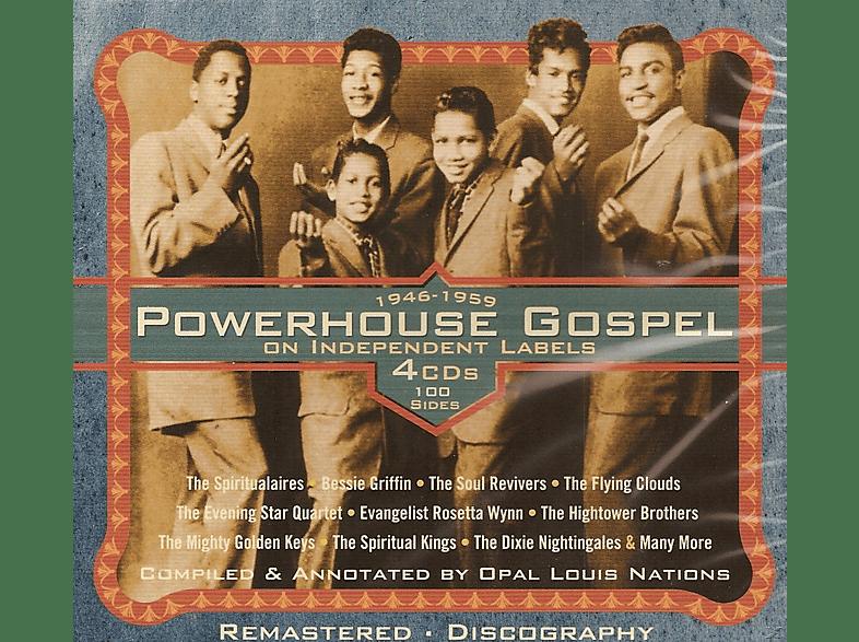 VARIOUS - Powerhouse Gospel On Independant Labels [CD]