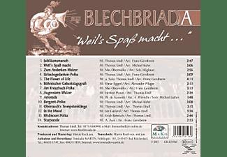 Blechbriada-blasmusik Mit Power - Weil's Spaß Macht...  - (CD)