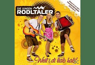 Die Jungen Rodltaler - Weil I Di Liab Hab'  - (CD)