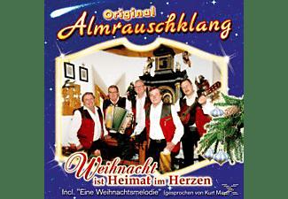 Original Almrauschklang - Weihnacht Ist Heimat Im Herzen  - (CD)