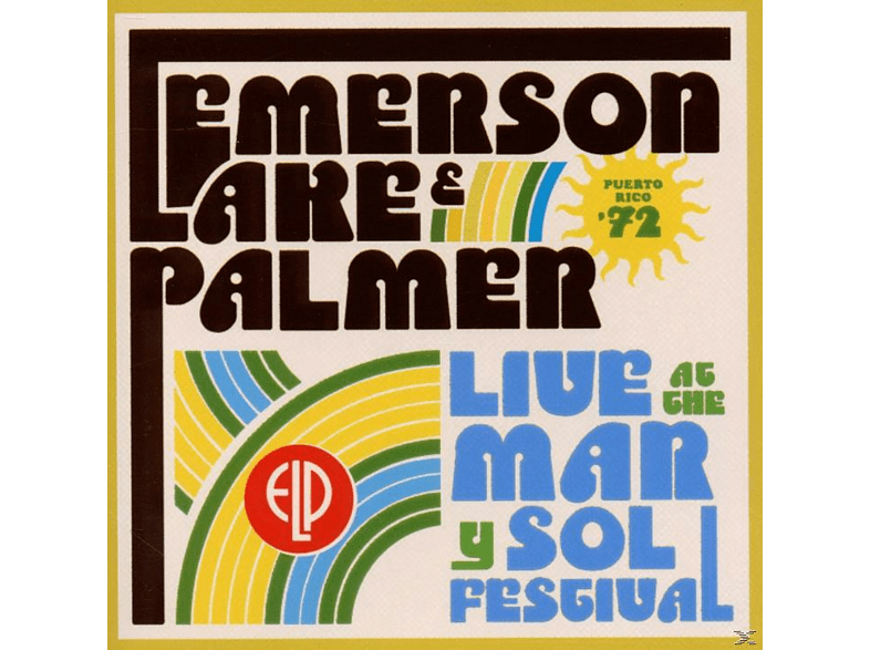 Emerson, Lake & Palmer - Live At Mar Y Sol Festival '72 [CD]