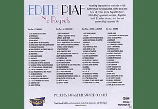 Edith Piaf - No Regrets  - (CD)
