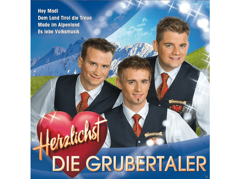 Die Grubertaler - Herzlichst [CD]