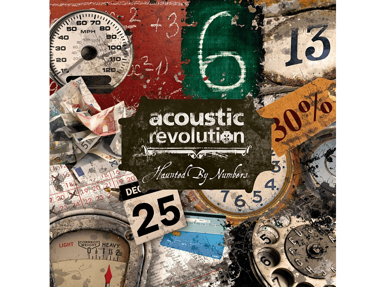 Acoustic Revolution - Haunted By Numbers [CD]