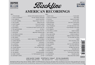 VARIOUS - Backline Vol.141  - (CD)