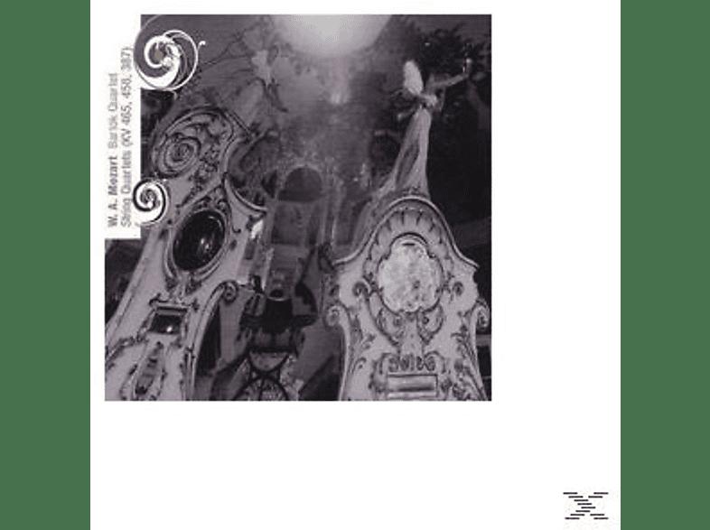 Bartok Quartet - Streichquar.Kv 387,458,465 [CD]