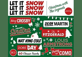 VARIOUS - LET IT SNOW, LET IT SNOW, LET IT SNOW  - (CD)